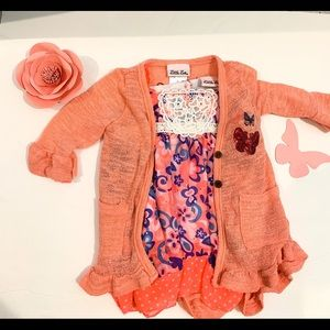 Girls 2t shirt and blouse.